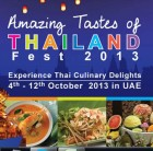 Amazing Tastes of Thailand Fest 2013 - The Royal Budha Participation