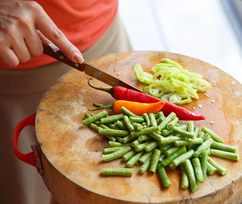 Thai Food - Chopping Block