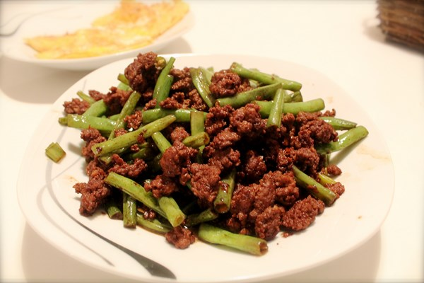 Minced Seafood with Holy Basil