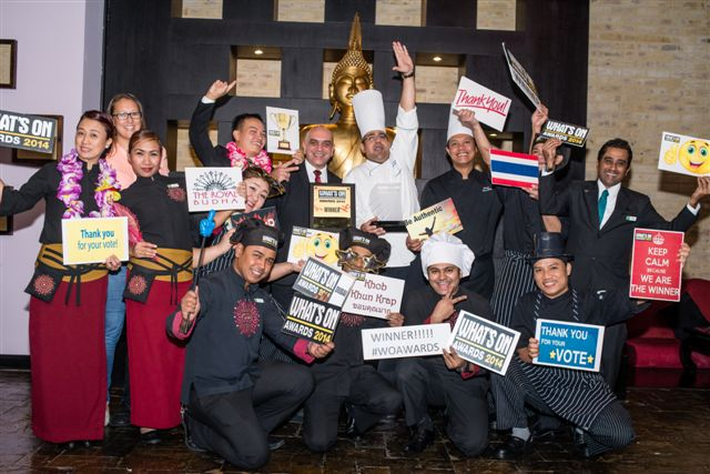 What's On Award 2014 Thai Restaurant : The Royal Budha