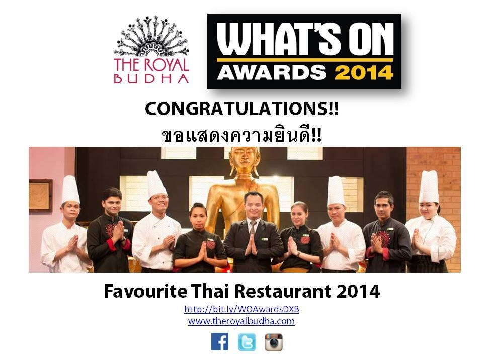 Favourite Thai Restaurant Winner